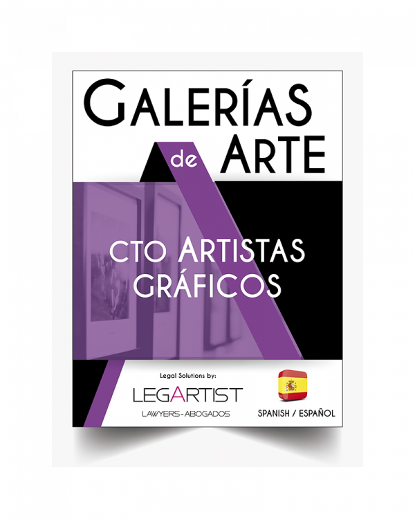 Contrato para artistas en galerías de arte