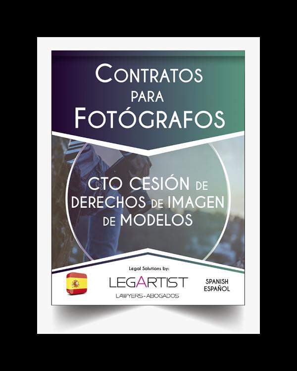 Cesión Derechos Imagen Modelos Fotográficos