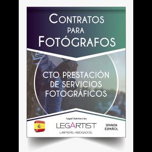 Contrato Servicios Fotográficos Personalizado
