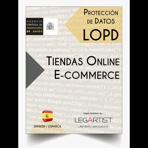 Protección Datos Web E-commerce en Internet
